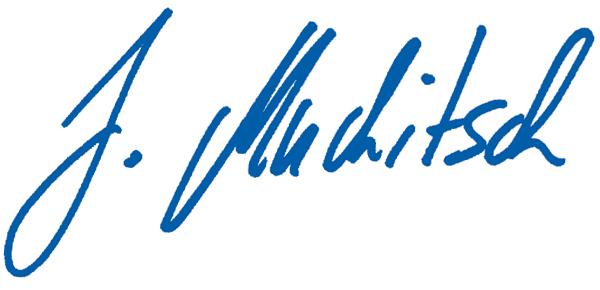 Unterschrift Abg. z. NR Josef Muchitsch