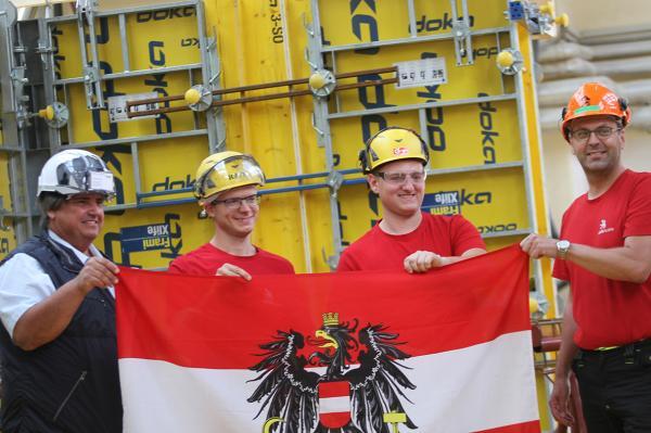 Muchitsch: 5 Europameister für Baubranche – Fokus auf beste Ausbildung lohnt sich!
