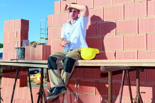 Hitzewelle: Gewerkschaft appelliert an Baufirmen, Hitzefrei zu geben