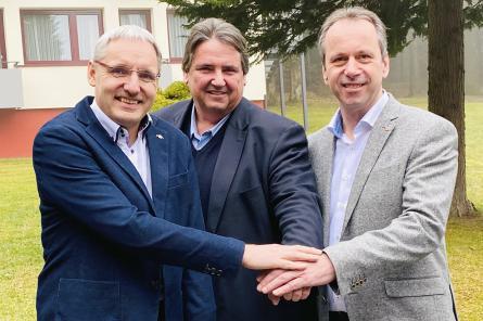 Neujahrstreffen der Gewerkschaft Bau-Holz: Gemeinsam stärker